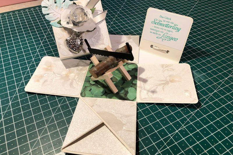 Hochzeitsbaumstammsägebox